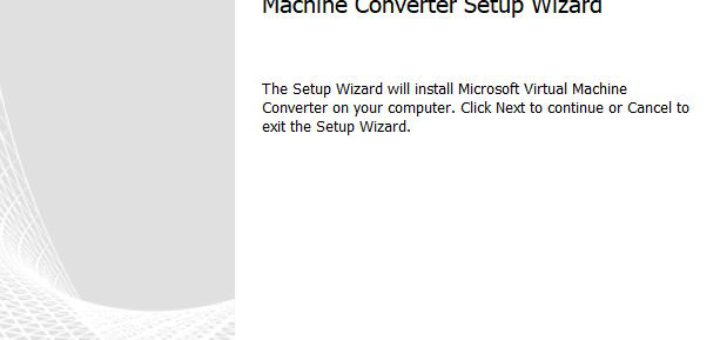 Hyper-v : conversion de disque virtuel avec Microsoft Virtual Machine Converter