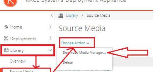 Kace SDA : Upload d'un OS ou source d'installation pour Windows