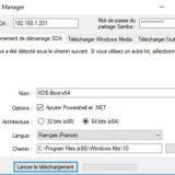 Kace SDA : Création d'un média bootable pour provisioning automatisé