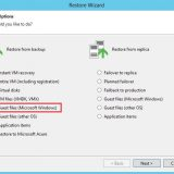 Veeam: Restauration d'un fichier Windows avec Veeam
