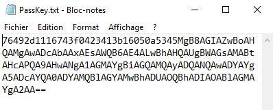 Powershell : crypter vos mots de passe dans vos scripts