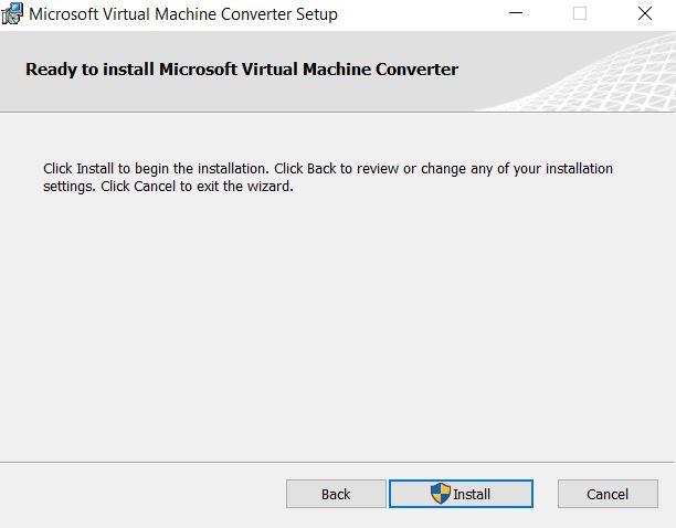 Hyper-v : conversion de disque avec Microsoft Virtual Machine Converter