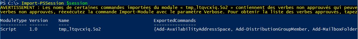 Office 365 : se connecter en powershell