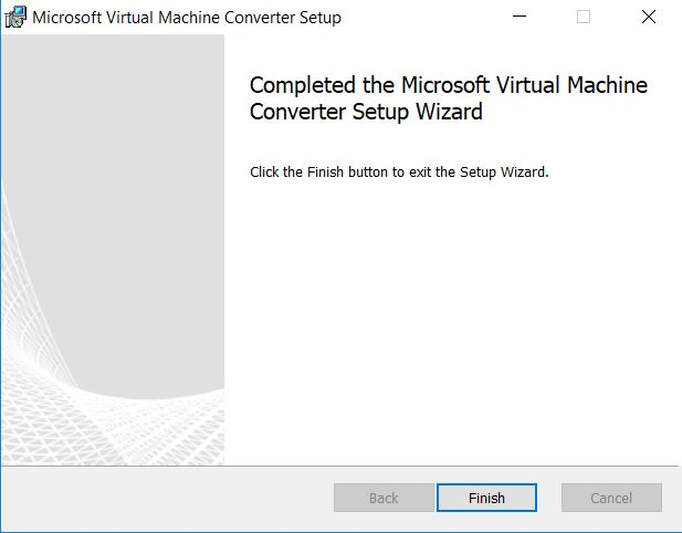 Hyper-v : conversion de disque virtuel avec Microsoft Virtual Machine Converter