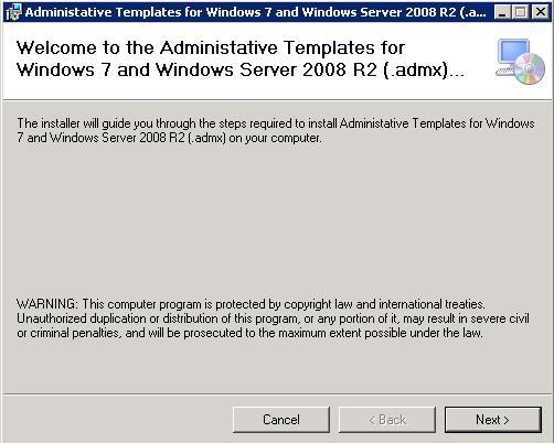 Windows Server : Créer un magasin central pour les modèles de GPO