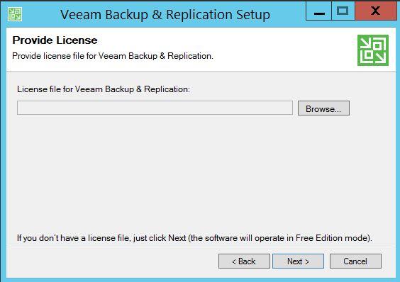 Installer Veeam Backup version gratuite