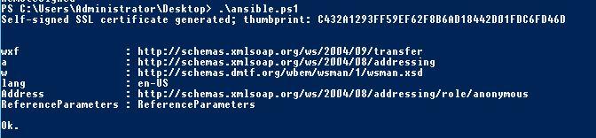 Ansible : installation et administrations des serveurs Windows