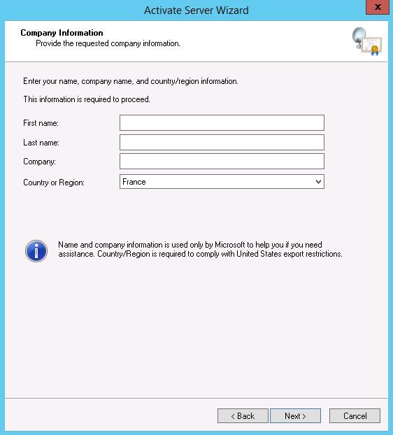 Configurer un serveur de CAL RDS sur Windows Serveur 2012 R2