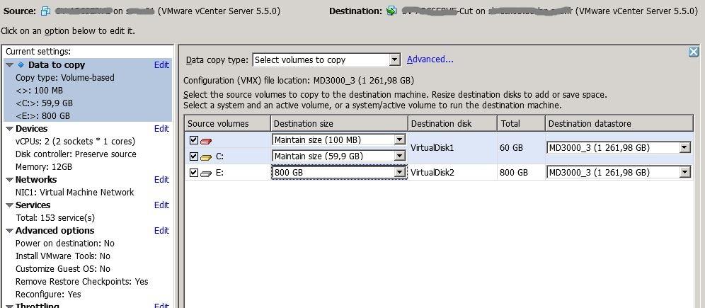 vmware   r u00e9duire la taille d u0026 39 un disque  vmdk avec vmware convertor