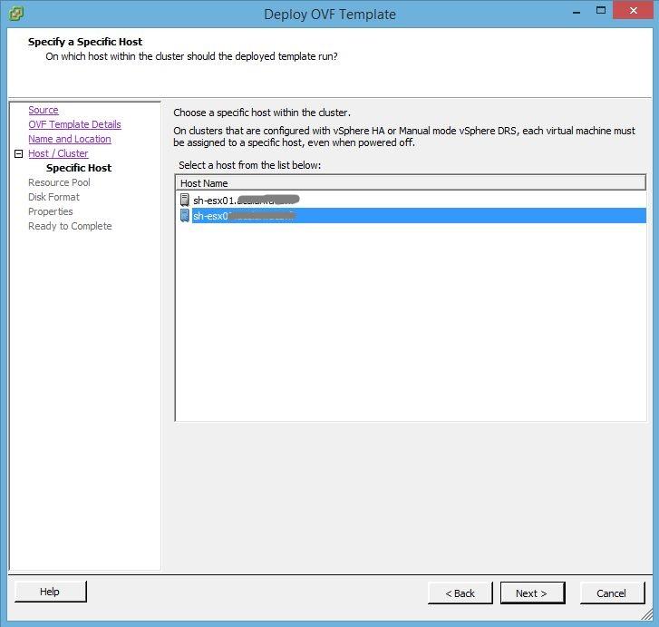 Tutorial VMware : Installer vCenter Server Appliance 5.5