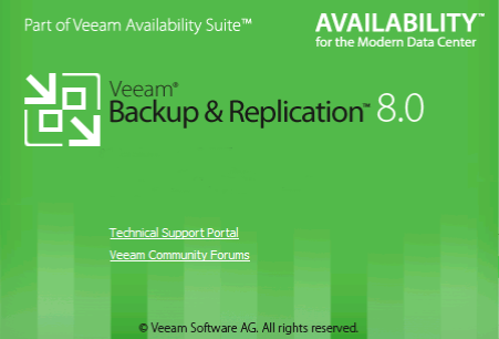 Installation Veeam Backup & Recovery 8.0
