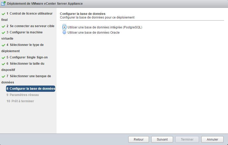 VMware : Installer vCenter Server Appliance vCSA 6